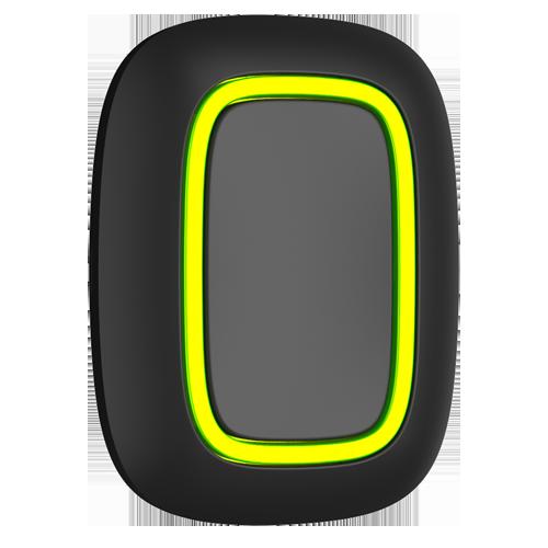 AJ-BUTTON-B Panic Button Bidirezionale Senza fili 868 MHz Jeweller Distanza in spazio aperto 1300 m Pulsazione sicura: doppia o lunga Alimentazione 1 batteria CR2032 3.0 V