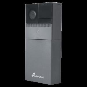 NVS-IPVD1B Nivian Smart Video Doorbell 720P Wifi IEEE 802.11 b/g/n 2.4 GHz Audio | IR Range 7 m Batteria inclusa 6000 mAh Compatibile con TUYA Smart Adatto per esterni IP54