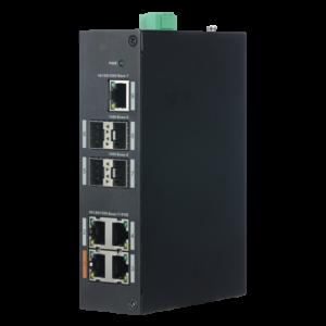 switch poe 4 porte poe 1 porta rj45 4 porte sfp gigabit