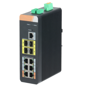 x security - Switch HiPoE X-Security 6 porte PoE (RJ45) + 4 porta Uplink (SFP)