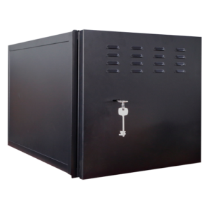 """LOCKBOX-6U-SL PN51767-241176 Custodia in metallo chiusa per DVR Specifico per TVCC Per i registratori fino a 6U rack Serratura da leva Compatibile con lo standard RACK di 19"""" Qualità e resistenza"""