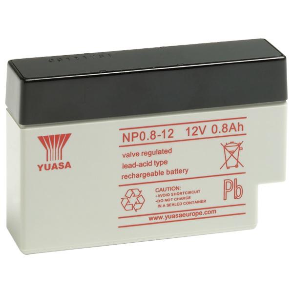 NP0.8-12Batteria VRLA uso generale NP0.8-12 (12V 0.8Ah ) Yuasa 5 anni