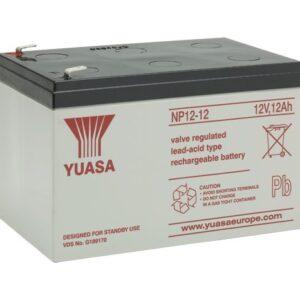 NP12-12Batteria VRLA uso generale NP12-12 (12V 12Ah ) Yuasa 5 anni