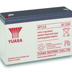 NP12-6Batteria VRLA uso generale NP12-6 ( 6V 12Ah ) Yuasa