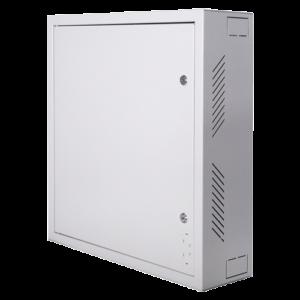RACK-WALL PN48767-241173 Box di sicurezza Speciale per installazione a parete Formato verticale Elevata sicurezza: 2 chiavi e serrature diverse Ingressi laterali per il cablaggio Fori VESA per monitor