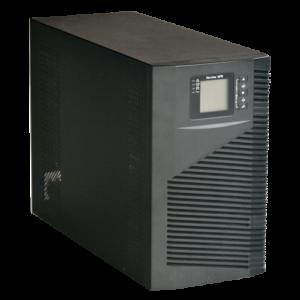 SAI online Potenza 3000VA/2700W Entrata 200~240 Vac / Uscita 200~240 Vac 4 uscite SAI/UPS protette Tempo di ricarica 4~5 h 6 batterie di piombo-acido ermetiche