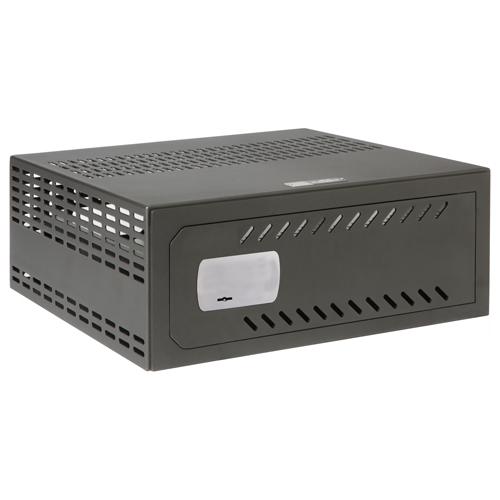 VR-110 PN89767-24194 Cassaforte per DVR Specifico per TVCC Per DVR da 1U rack Serratura meccanica Con ventilazione e passacavi Qualità e resistenza