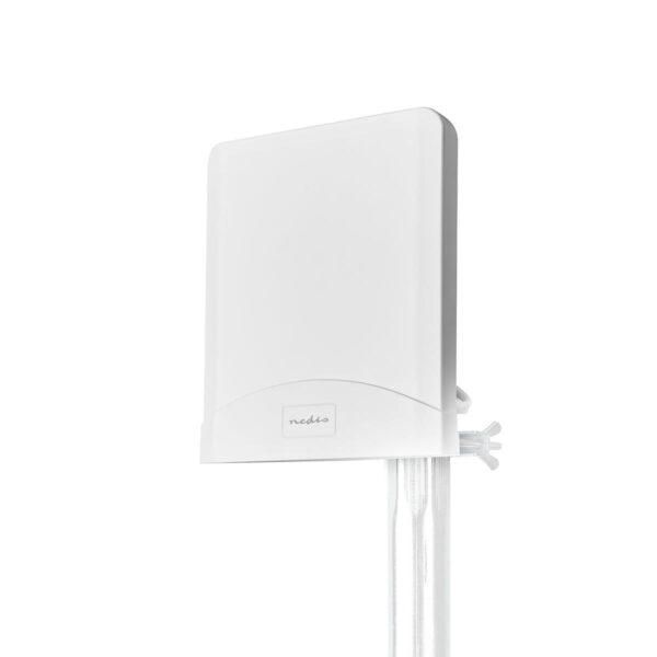 5G / 4G / 3G Antenna GSM / 3G / 4G / 5G | Interno ed Esterno | 698-5000 MHz | Guadagno: 6 dB | 2.50 m | Bianco