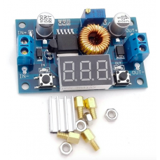 5A 75W DC-DC Adjustable Step-down Module Step Down Modules with Voltmeter
